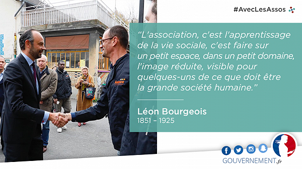 #AvecLesAssoc - citation Léon Bourgeois