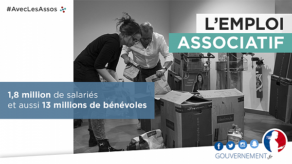 #AvecLesAssoc - l'emploi associatif
